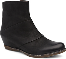 Dansko Outlet - Lettie Black Burnished Nubuck