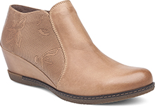 Dansko Outlet - Luann Taupe Burnished Nubuck