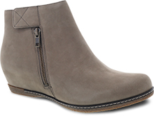Dansko Outlet - Leanna Taupe Burnished Nubuck
