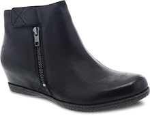 Dansko Outlet - Leanna Black Burnished Nubuck
