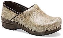 Dansko Outlet - Professional Taupe Arabesque Patent