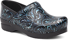 Dansko Outlet - Professional Blue Damask Patent