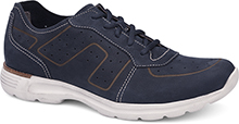 Dansko Outlet - Wesley Navy Milled Nubuck