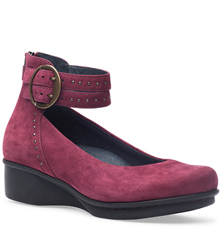 Dansko Outlet - Lois Wine Nubuck