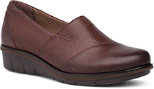 Dansko Outlet - Julia Brown Burnished Nubuck