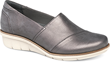 Dansko Outlet - Julia Pewter Metallic Brush Off