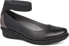Dansko Outlet - Jenna Black Milled Nappa