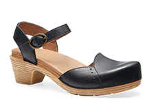 Dansko Outlet - Maisie Black Full Grain