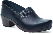 Dansko Outlet - Mavis Black Full Grain
