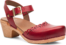 Dansko Outlet - Marta Red Full Grain