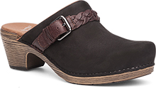 Dansko Outlet - Melanie Black Milled Nubuck