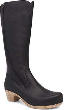 Dansko Outlet - Martha Black Tumbled Pull Up
