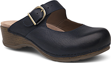 Dansko Outlet - Martina Navy Burnished Nubuck