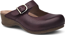Dansko Outlet - Martina Wine Burnished Nubuck