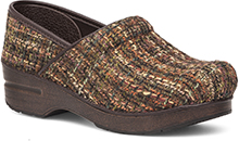 Dansko Outlet - Fabric Pro Brown Textured
