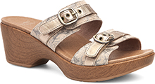 Dansko Outlet - Jessie Taupe Marble Suede