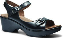 Dansko Outlet - Joanie Black Full Grain