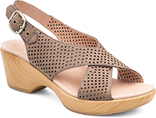 Dansko Outlet - Jacinda Walnut Nubuck