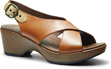 Dansko Outlet - Jacinda Caramel Full Grain