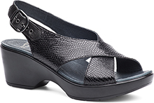 Dansko Outlet - Jacinda Black Snake