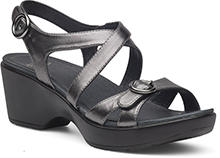 Dansko Outlet - Julie Pewter Metallic