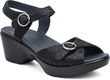 Dansko Outlet - June Black Lizard