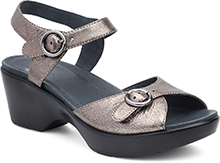 Dansko Outlet - June Pewter Nappa