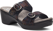 Dansko Outlet - Sophie Black Stained Glass
