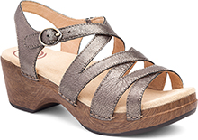 Dansko Outlet - Stevie Pewter Nappa