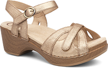 Dansko Outlet - Season Gold Crinkle