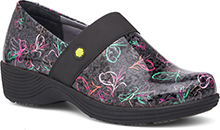 Dansko Outlet - Camellia Charcoal Multi Patent