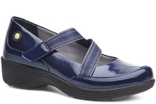 Dansko Outlet - Calypso Navy Textured Patent
