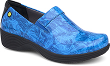 Coral Blue Printed Patent