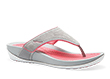 Katy Grey Pink Suede