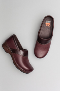 Poppy Bordeaux Burnished Nubuck