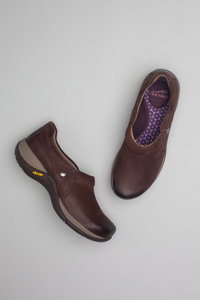 Celeste Brown Burnished Nubuck