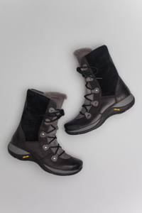 Camryn Black Burnished Nubuck