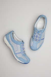 Helen Light Blue Suede