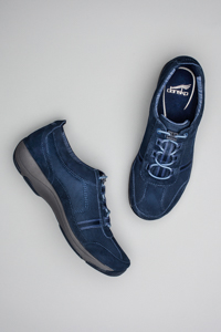 Helen Dark Blue Suede