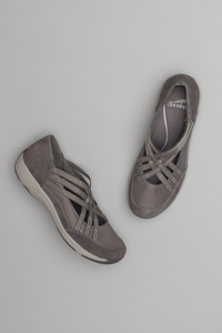 Hilde Charcoal Suede