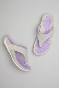 Katy 2 Grey/Lavender Suede