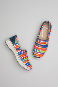 Belle Multi Stripe Canvas