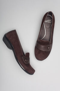 Olena Brown Kid Suede