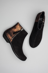 Otis Black Kid Suede