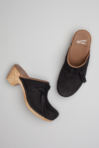 Miriam Black Milled Nubuck