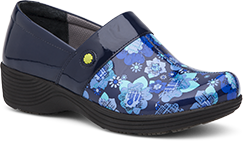 Camellia Navy Floral Patent