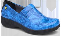 Coral Blue Printed Patent