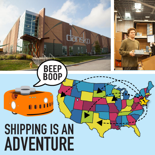 Adventures in Shipping!  -