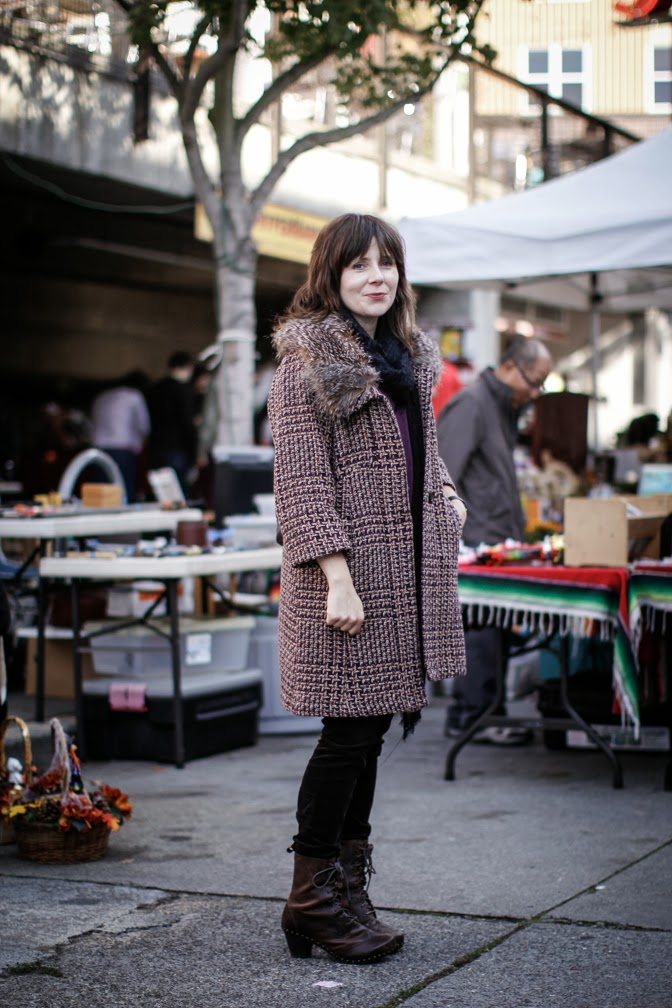 Q&A with Street Style Blogger Dana Landon - Spotted: Dansko boots in downtown Seattle [Photo Credit: Dana Landon]