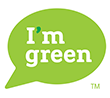 I'm Green icon for bio-based carbon negative materials